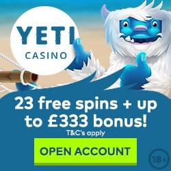 yeti mobile casino payforit deposit