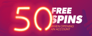 50 free spins no deposit casino