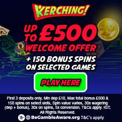 Kerching Boku casino slots payment