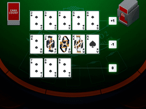 blackjack card counting software